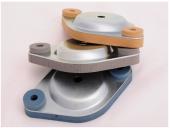 Опорная пластина с изоляцией для виброизоляторов ISOTOP FP/K 1-4 - KTL