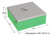 Виброизоляционные опоры Виброфлекс SM 120/50-A