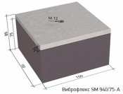 Виброизоляционные опоры Виброфлекс SM 940/75-A