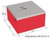 Виброизоляционные опоры Виброфлекс SM 470/75-A